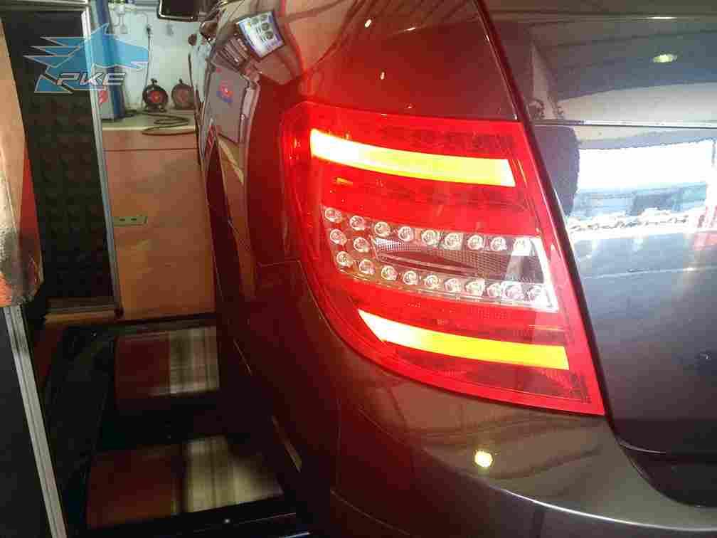 PKE SuperSPORT em Mercedes C250 CDI 204cv – 2011