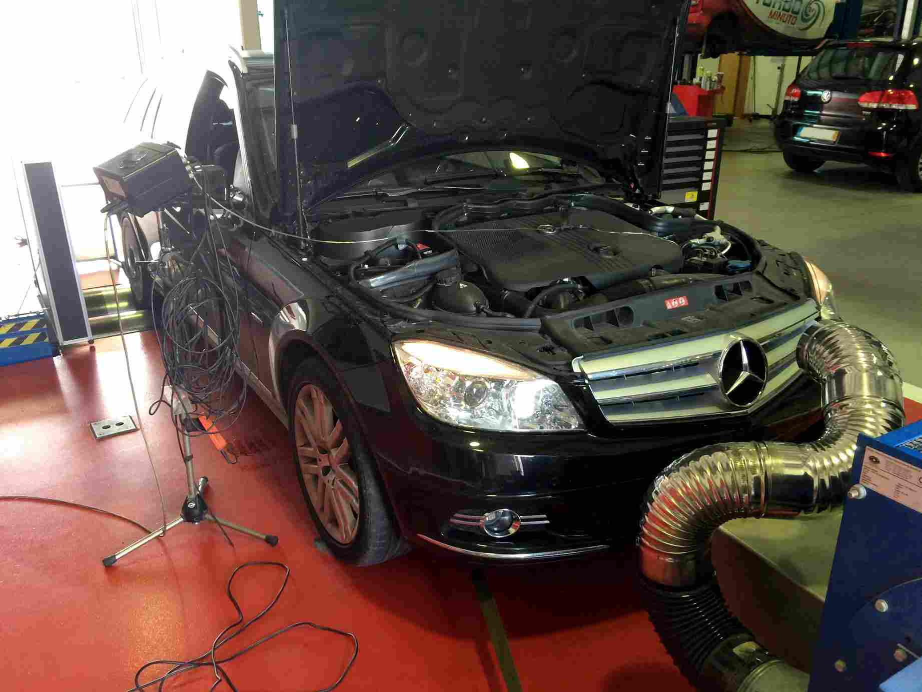 PKE FlexDRIVE em Mercedes C250 CDI 204cv – 2011