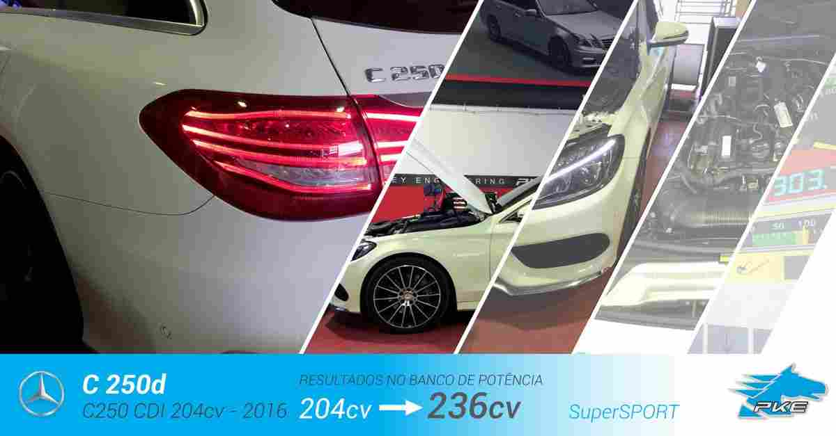 PKE SuperSPORT em Mercedes C 250 d 204cv – 2016