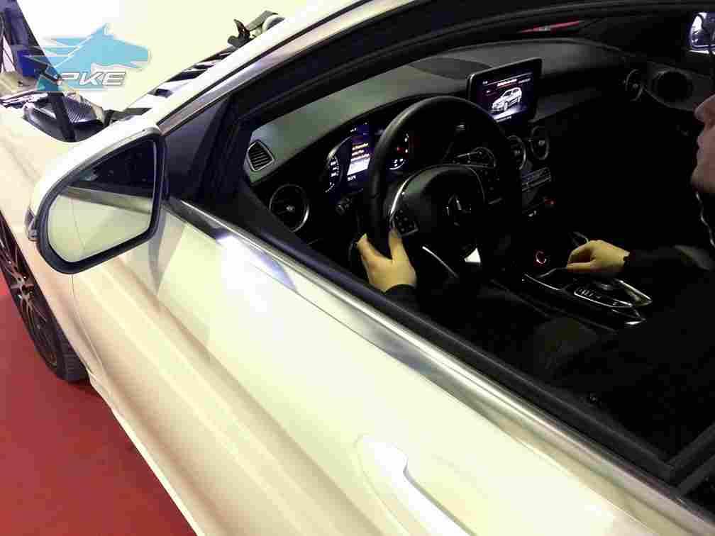 PKE SuperSPORT em Mercedes C 250 d 204cv – 2016