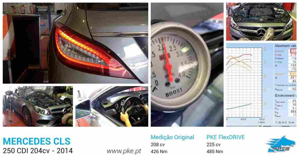 PKE FlexDRIVE em Mercedes CLS 250 CDI 204cv – 2014