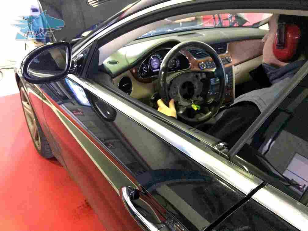 PKE FlexDRIVE em Mercedes CLS 320 CDI 211cv – 2005