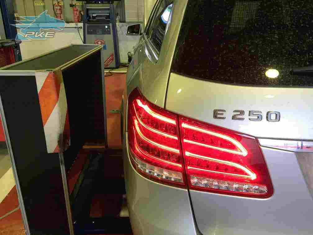 PKE SuperSPORT em Mercedes E250 204cv – 2013
