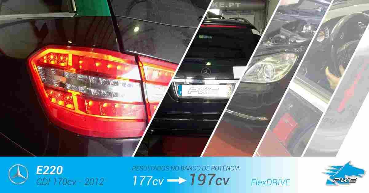 PKE FlexDRIVE em Mercedes E220 CDI 170cv – 2012