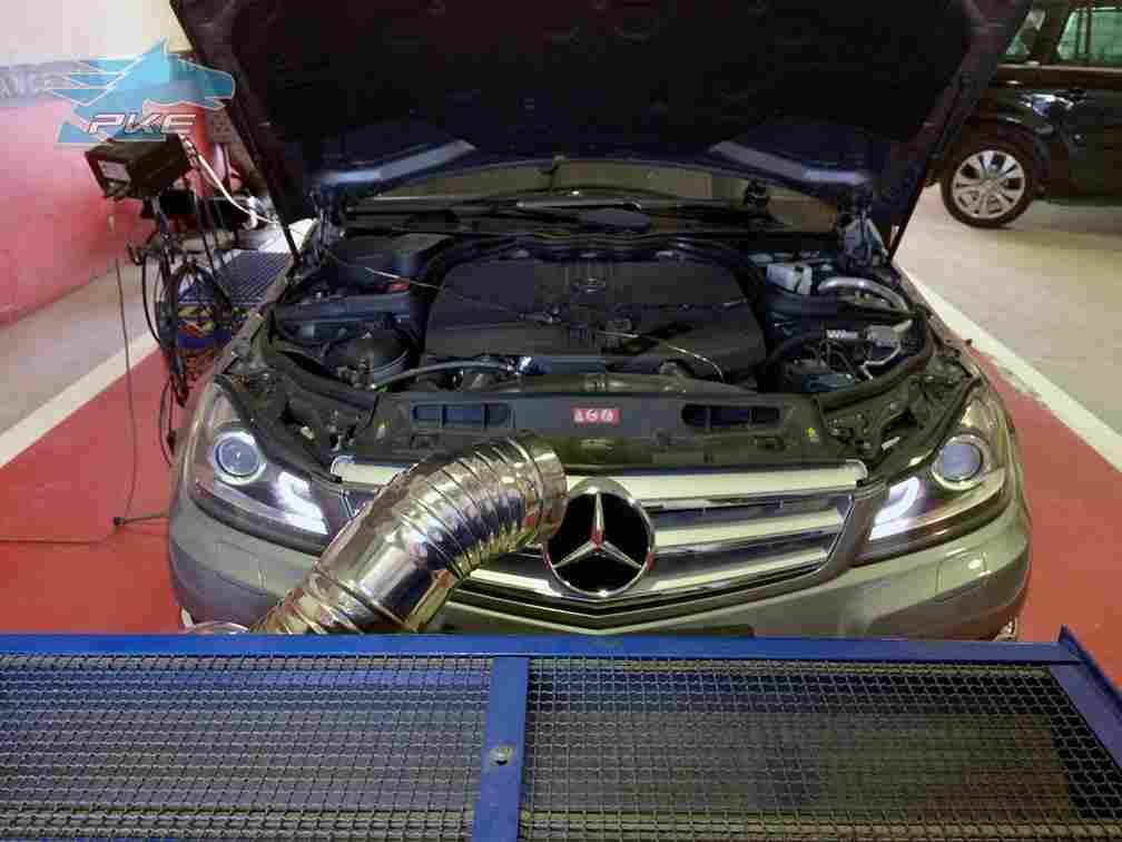 PKE SuperSPORT em Mercedes C220 CDI 170cv – 2012