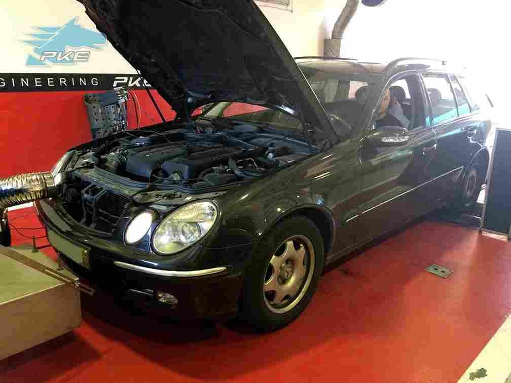 PKE SuperSPORT em Mercedes E220 CDI 150cv – 2004
