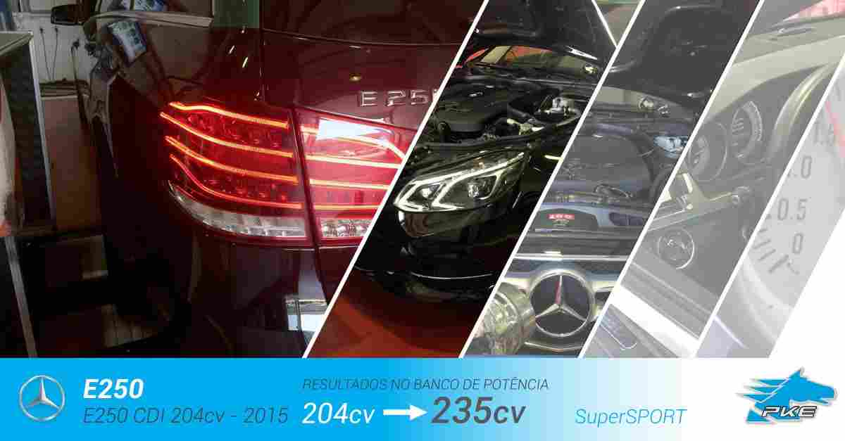 PKE SuperSPORT em Mercedes E250 CDI 204cv – 2015