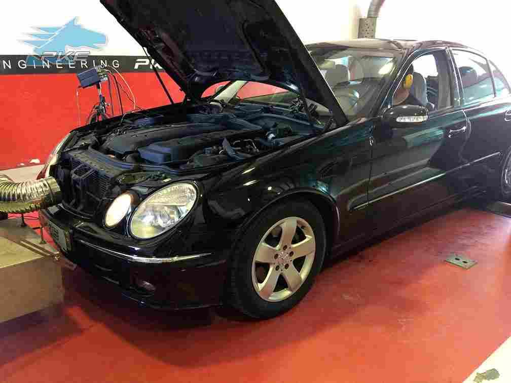 PKE FlexDRIVE em Mercedes E280 CDI 177cv – 2004