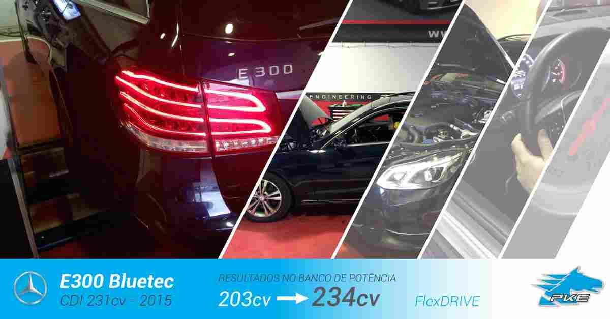 PKE FlexDRIVE em Mercedes E300 CDI 231cv – 2015