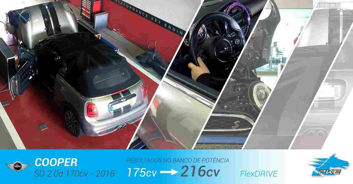 PKE FlexDRIVE em Mini Cooper SD 2.0d 170cv – 2016
