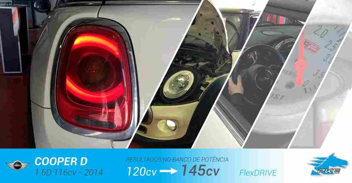 PKE FlexDRIVE em MINI Cooper D 1.6D 116cv – 2014