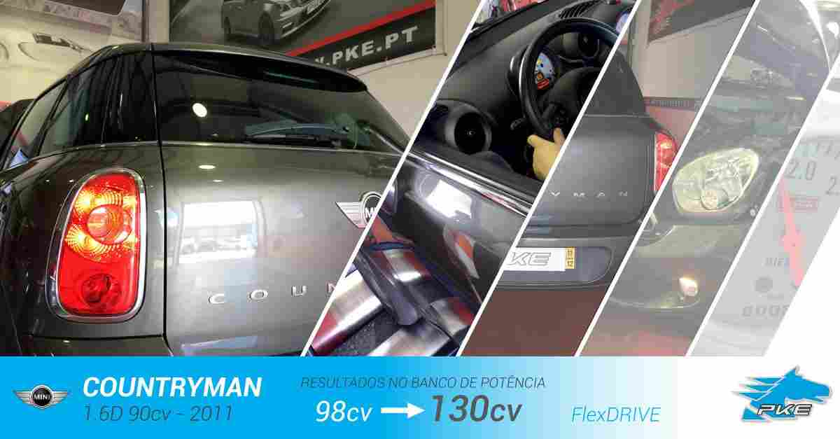 PKE FlexDRIVE em Mini Countryman 1.6D 90cv – 2011