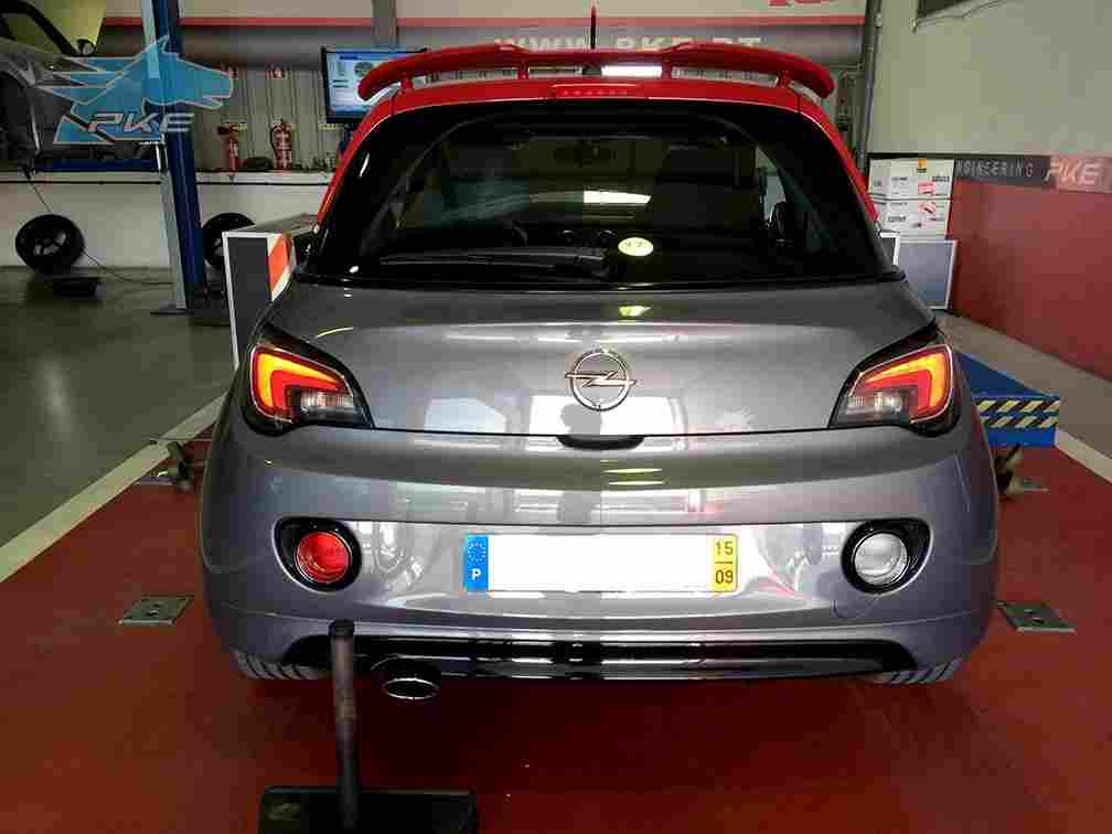 PKE SuperSPORT em Opel Adam S 1.4T 150cv – 2015