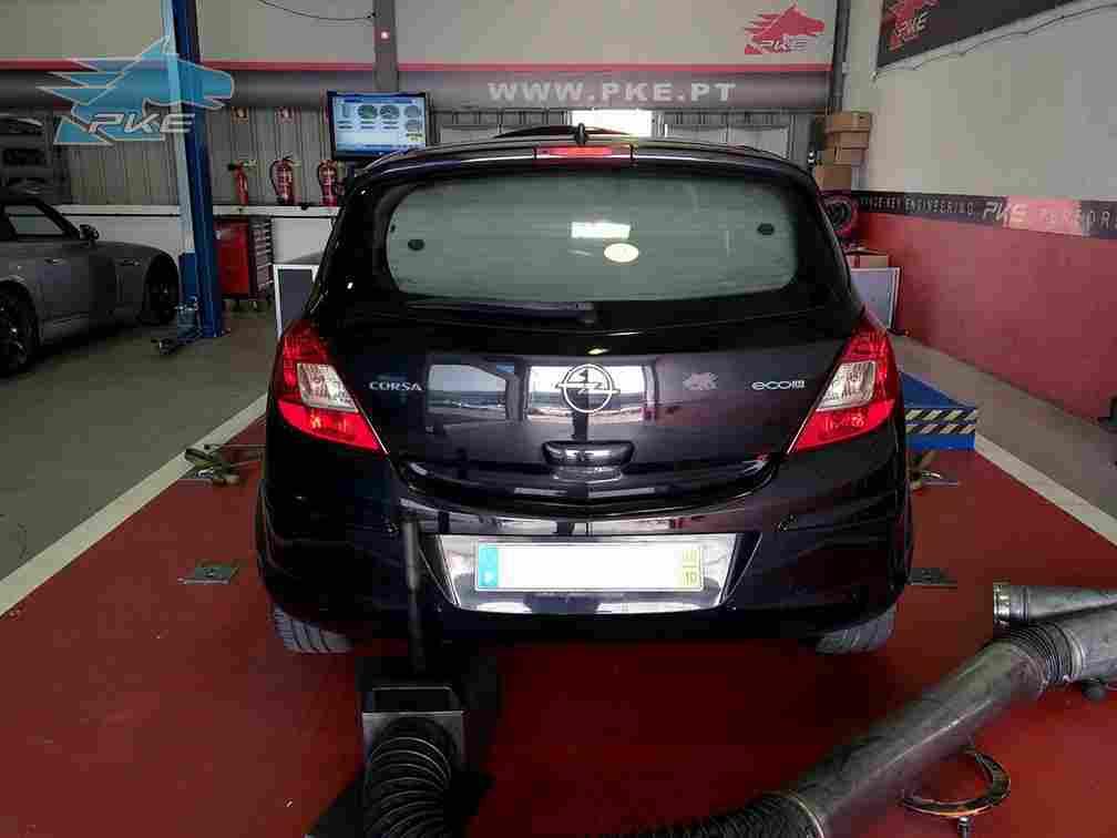 PKE SuperSPORT em Opel Corsa 1.3 CDTI 75cv – 2008