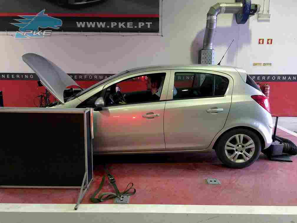 PKE FlexDRIVE em Opel Corsa 1.3 CDTI 95cv – 2010