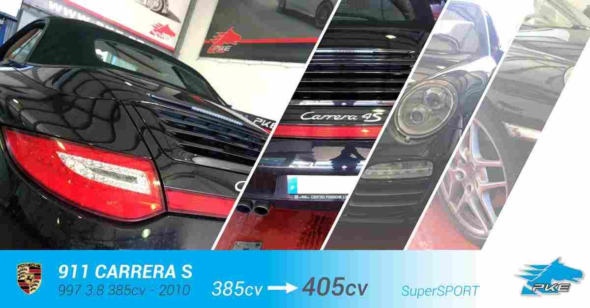 PKE SuperSPORT em Porsche 911 Carrera S 3.8 385cv – 2010