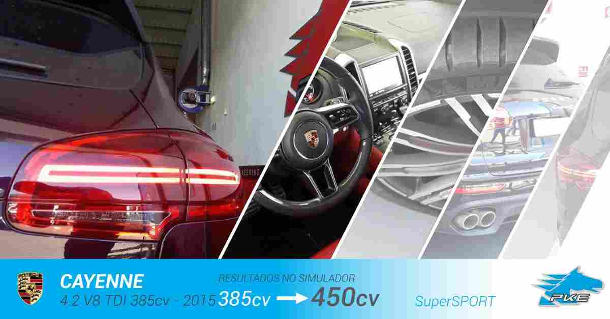 PKE SuperSPORT em Porsche Cayenne 4.2 V8 TDI 385cv – 2015