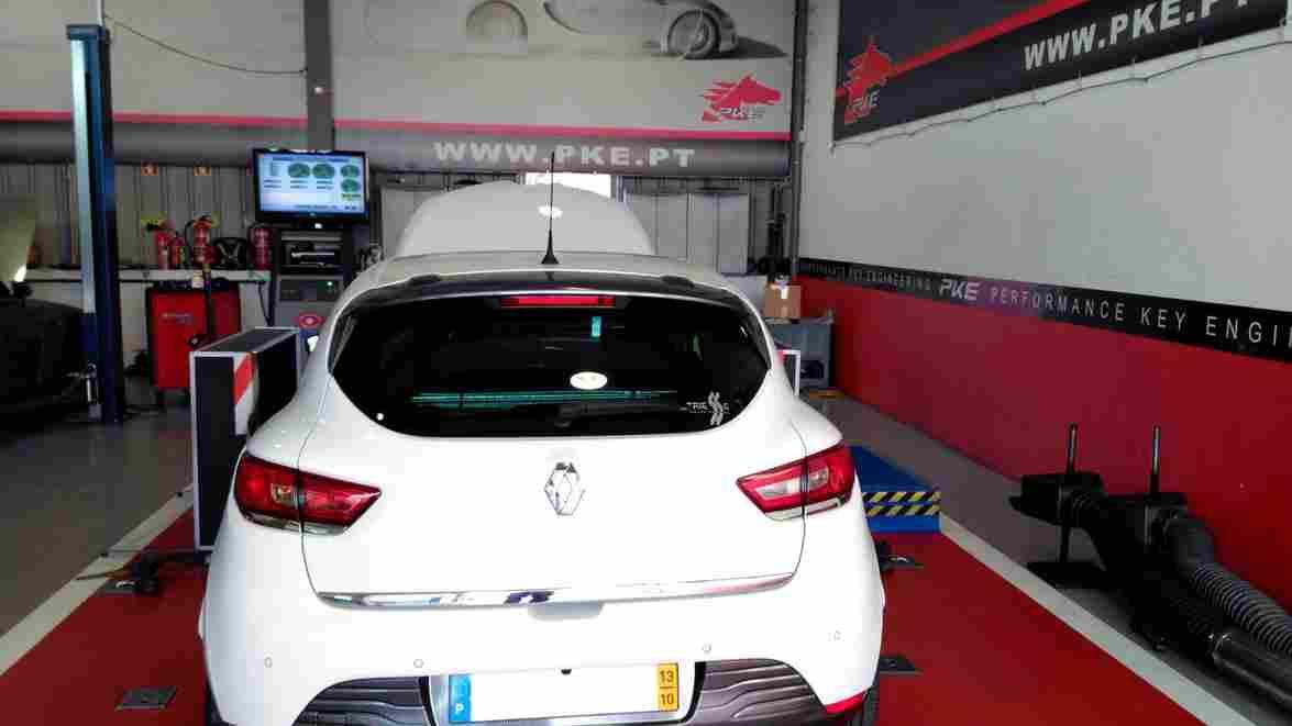 PKE FlexDRIVE em Renault Clio 1.5d 90cv – 2013