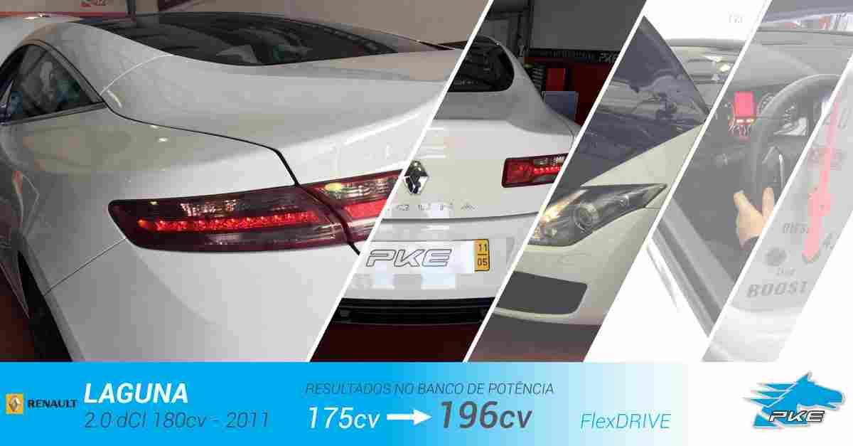 PKE FlexDRIVE em Renault Laguna 2.0 dCI 180cv – 2011
