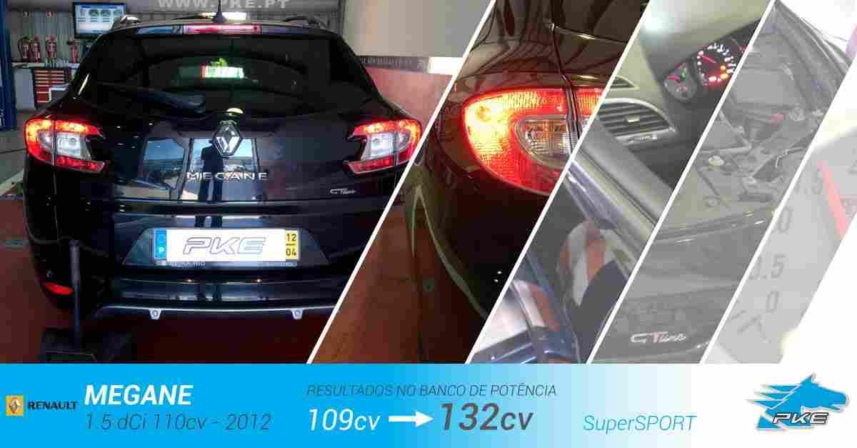 PKE SuperSPORT em Renault Megane 1.5 dCi 110cv – 2012