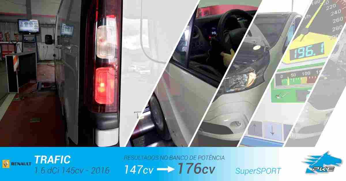 PKE SuperSPORT em Renault Trafic 1.6 dCi 145cv – 2016