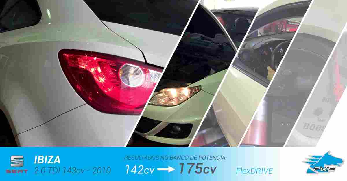 PKE FlexDRIVE em Seat Ibiza 2.0 TDI 143cv – 2010