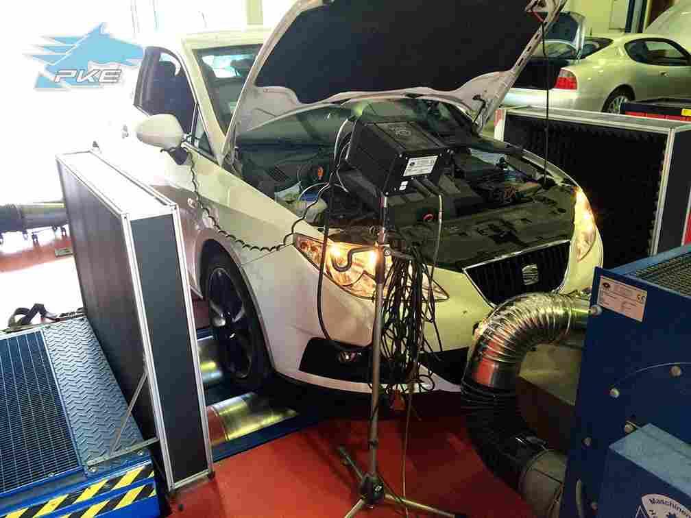 PKE SuperSPORT em Seat Ibiza 1.6 TDI 90cv – 2010