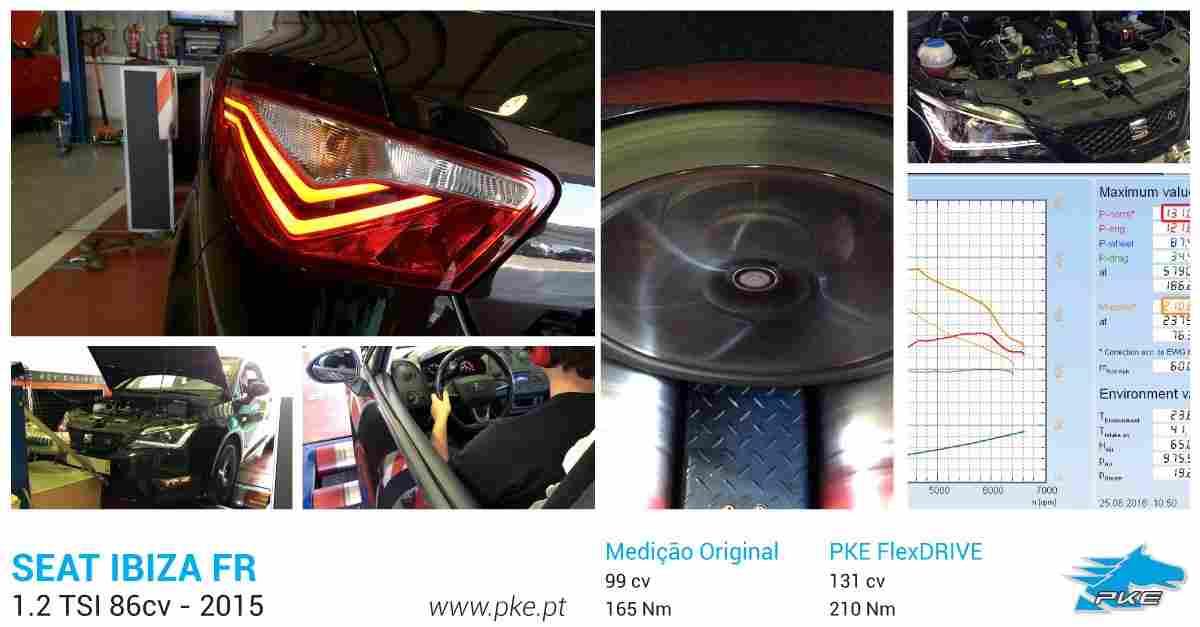 PKE FlexDRIVE em Seat Ibiza FR 1.2 TSI 86cv – 2015