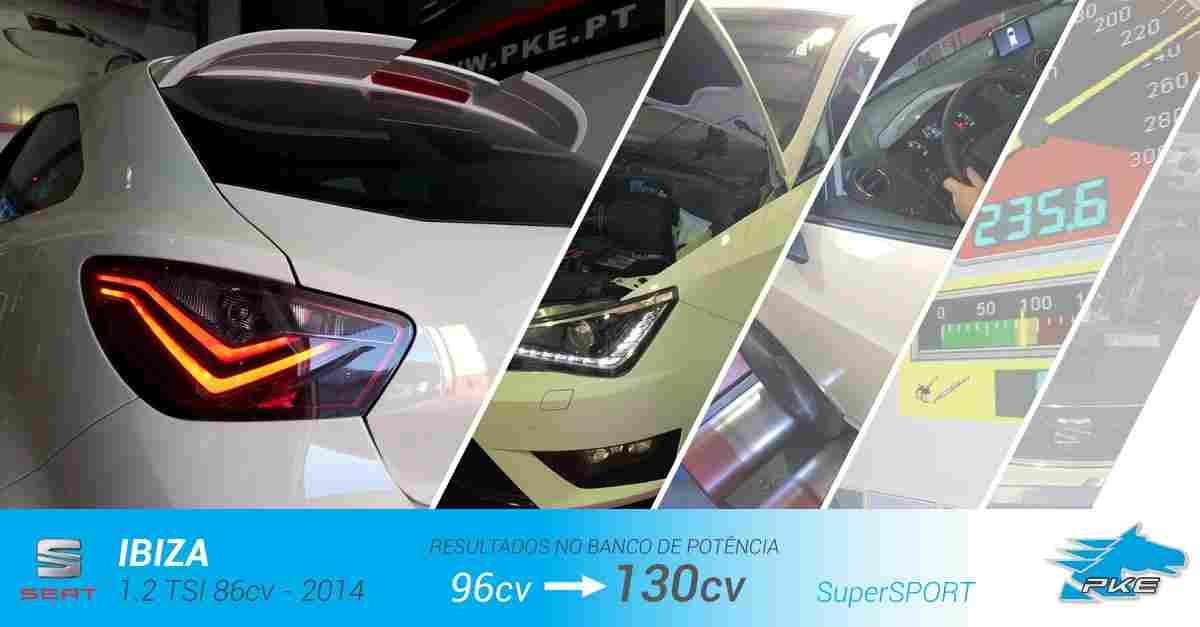 PKE SuperSPORT em Seat Ibiza 1.2 TSI 86cv – 2014