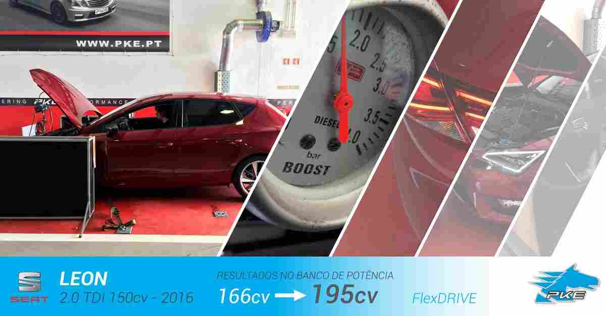 PKE FlexDRIVE em Seat Leon 2.0 TDI 150cv – 2016