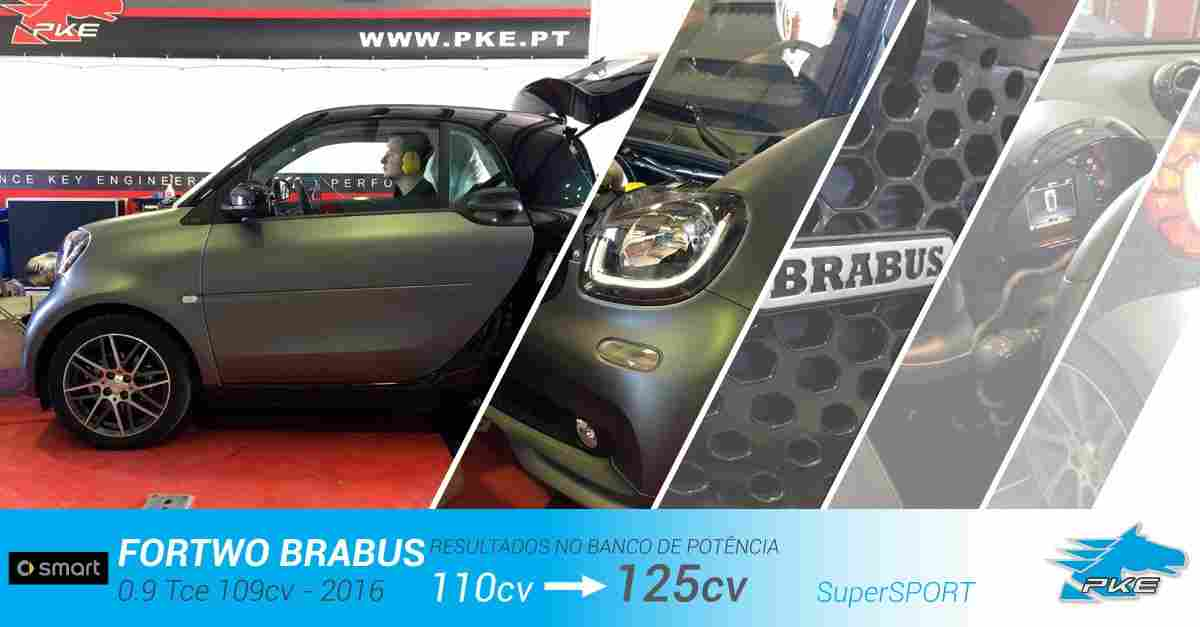 PKE SuperSPORT em Smart ForTwo Brabus 0.9 Tce 109cv – 2016