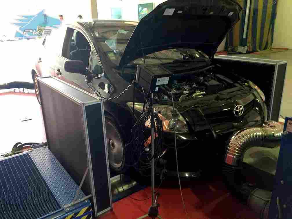 PKE SuperSPORT em Toyota Auris 2.2D 177cv – 2008