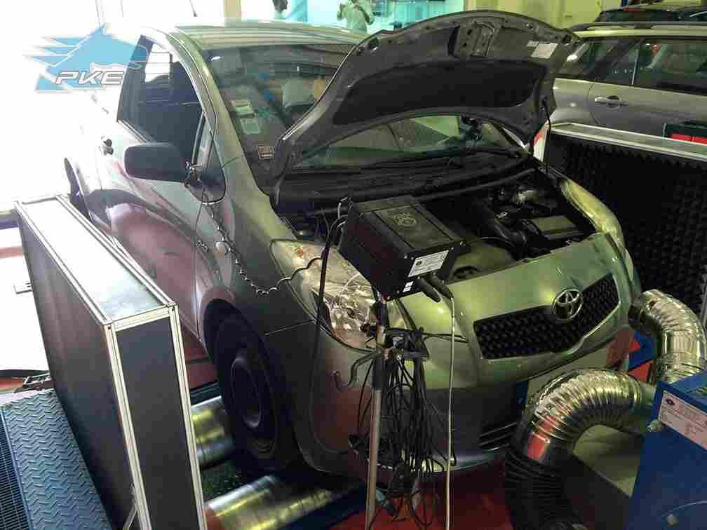 PKE FlexDRIVE em Toyota Yaris 1.4 D4D 90cv – 2006