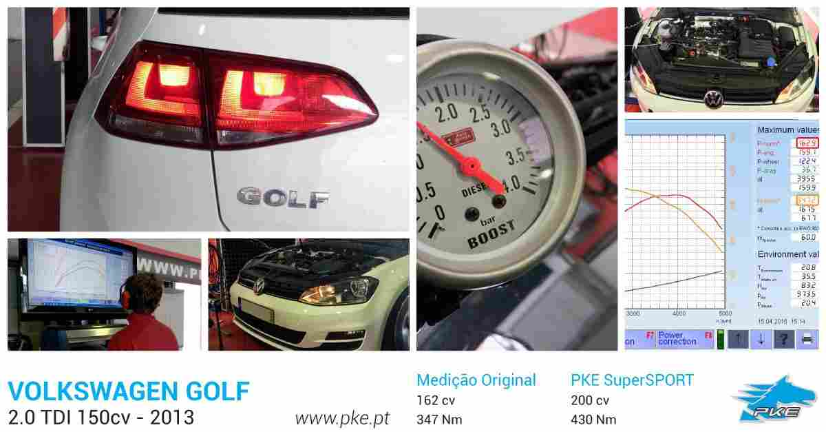 PKE SuperSPORT em Volkswagen Golf 2.0 TDI 150cv – 2013
