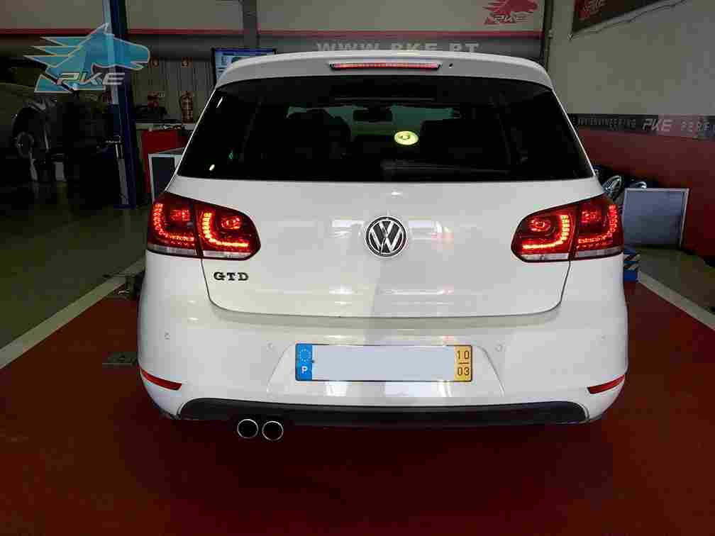 PKE SuperSPORT em Volkswagen Golf GTD 2.0 TDI 170cv – 2010