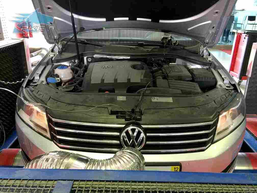PKE SuperSPORT em Volkswagen Passat 1.6 TDI 105cv – 2012