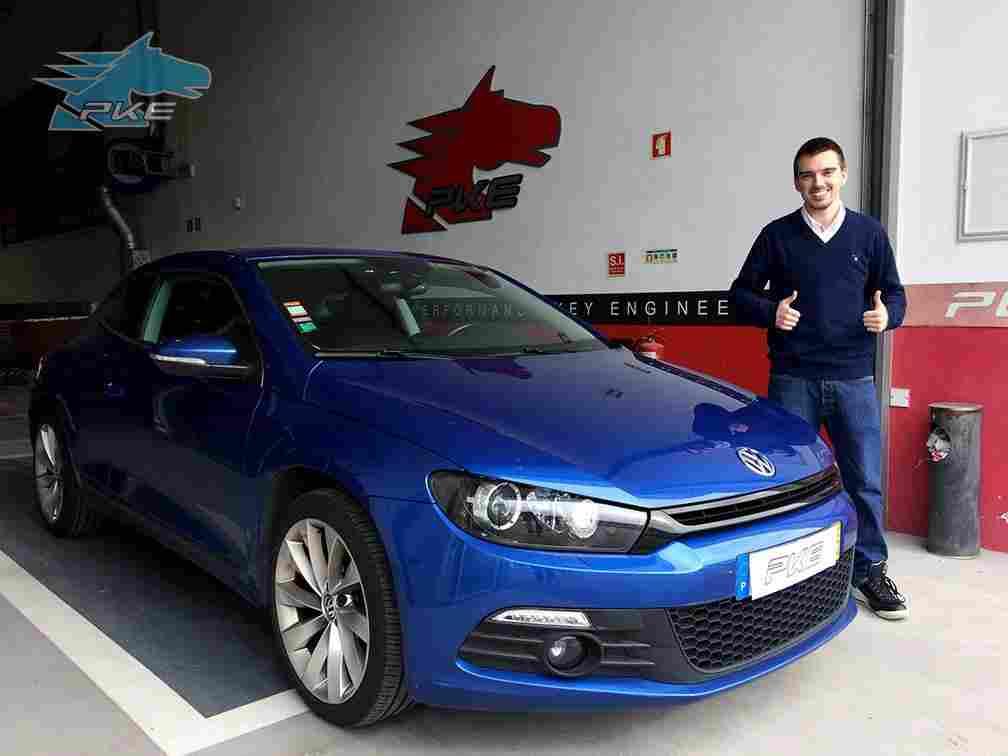 """1º Vencedor do prémio """"PKE faz 15 anos"""" já tem o seu Volkswagen Scirocco Otimizado"""
