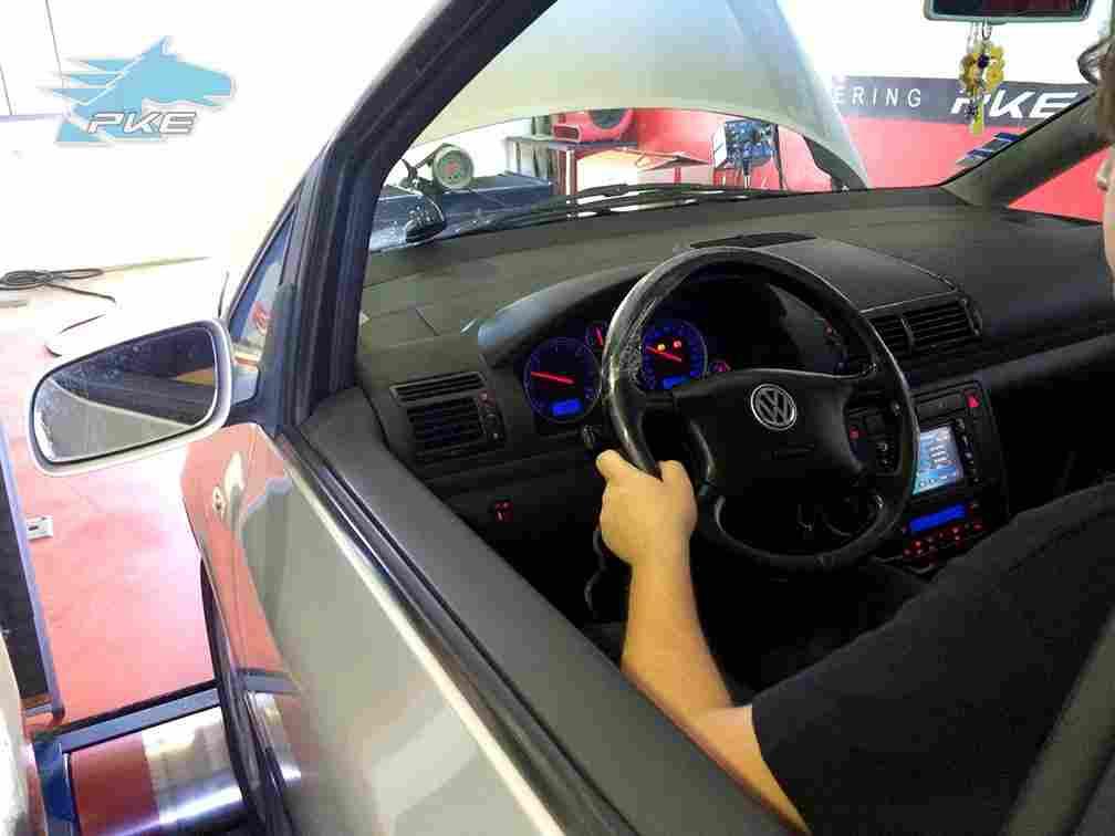 PKE SuperSPORT em Volkswagen Sharan 1.9 TDI 115cv com Motor 130cv – 2001