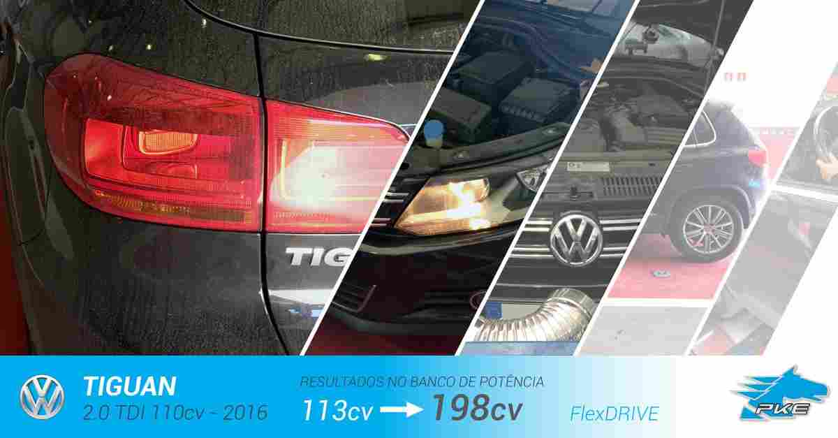 PKE FlexDRIVE em Volkswagen Tiguan 2.0 TDI 110cv – 2016